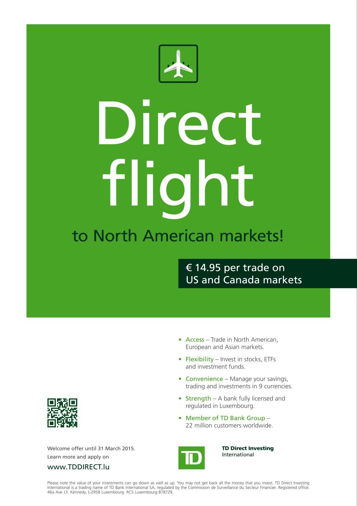 TD Direct Investing International -
