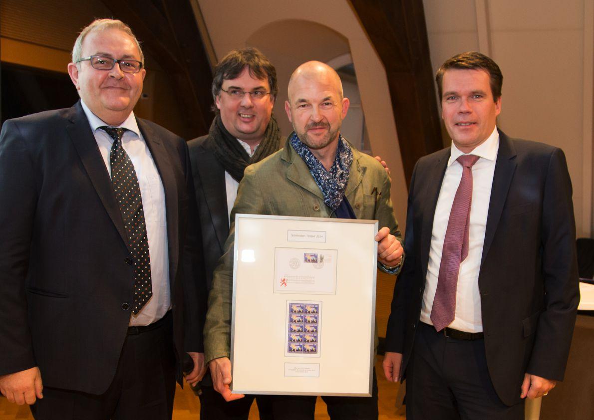 post luxembourg binsfeld remporte le prix du plus beau timbre 2014 binsfeld. Black Bedroom Furniture Sets. Home Design Ideas