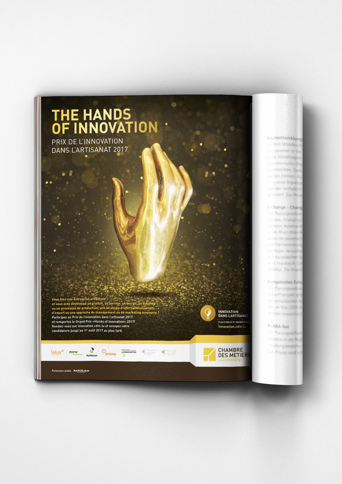 Chambre des Métiers Prix de l Innovation dans l Artisanat 2017